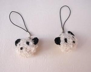 ucono今日の編み物2015.2.3パンダ